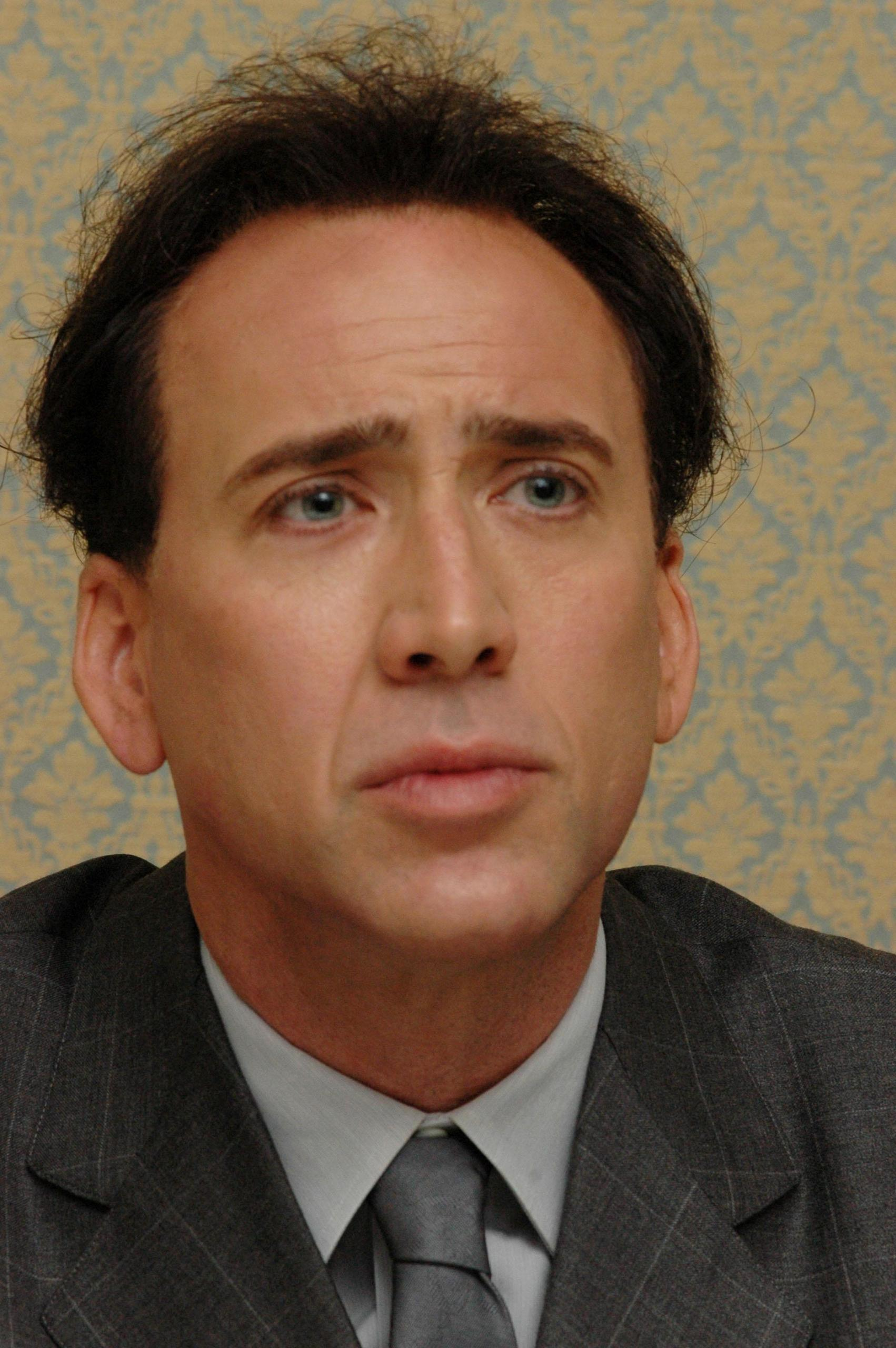 Astounding What Happened To Nicolas Cage T J Brearton Short Hairstyles Gunalazisus