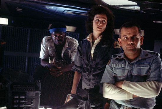 the nostromo crew tired of their own antics