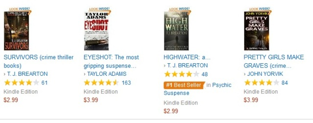 Highwater Bestseller